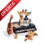 GATOS CON PIANO Y CHELO