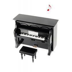 MINIATURA PIANO VERTICAL NEGRO
