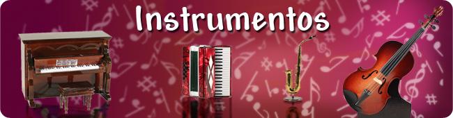Instrumentos en miniatura